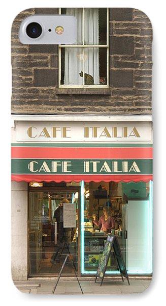Cafe Italia Phone Case by Mike McGlothlen