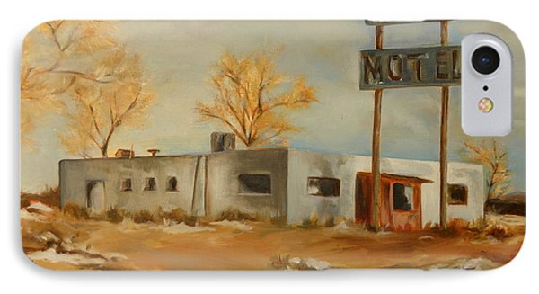 Cafe Motel IPhone Case by Lindsay Frost