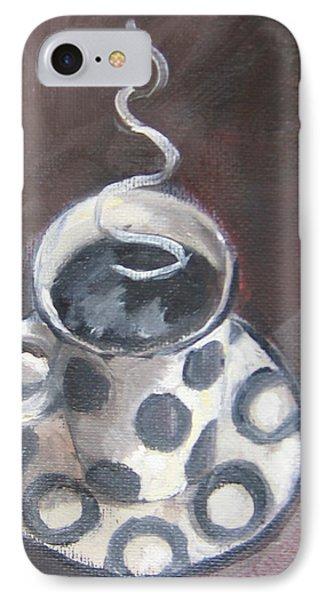 Cafe Noir Phone Case by Susan Richardson