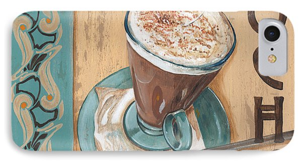 Cafe Nouveau 1 IPhone Case by Debbie DeWitt