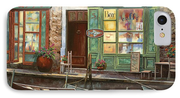 caffe Carlotta Phone Case by Guido Borelli