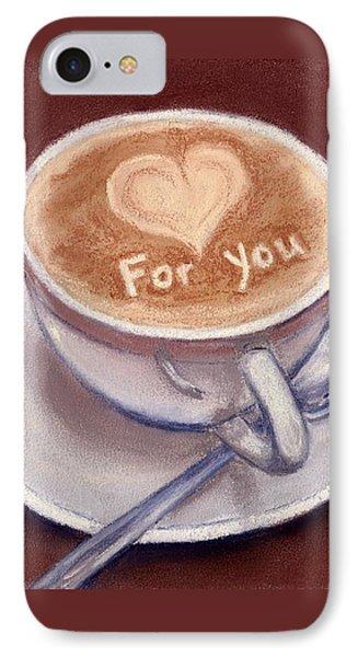 Caffe Latte IPhone Case
