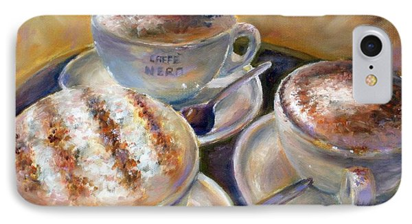 Caffe Nero IPhone Case by Bonnie Goedecke