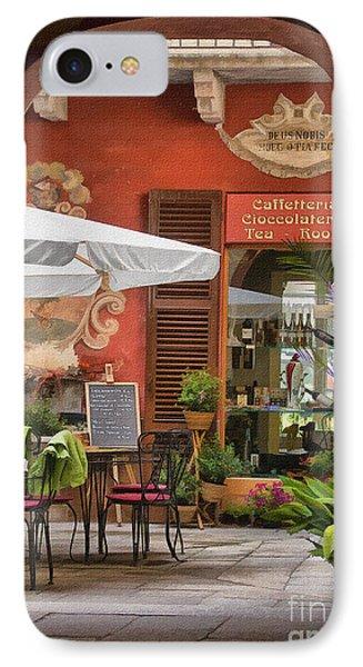Caffeteria Orta San Guilio IPhone Case