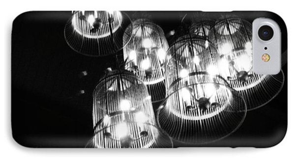 Caged Lights Phone Case by Kaleidoscopik Photography