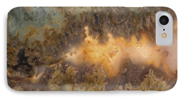 Cahllis Volcanics Agate IPhone Case by Leland D Howard