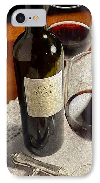 Cain Cuvee Painting IPhone Case by Jon Neidert