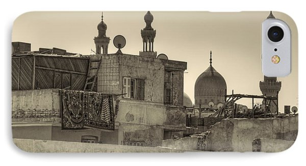 Cairo Skyline II IPhone Case by Nigel Fletcher-Jones