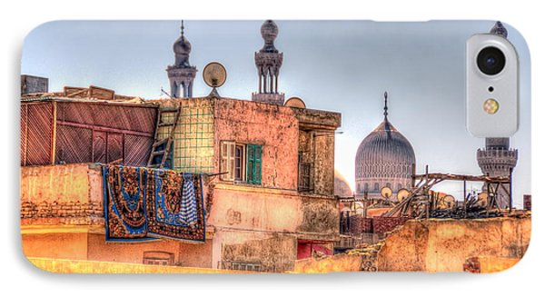 Cairo Skyline IPhone Case by Nigel Fletcher-Jones