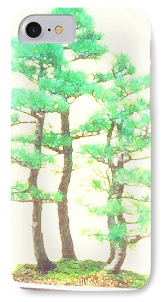 Caitlin Elm Bonsai Tree IPhone Case