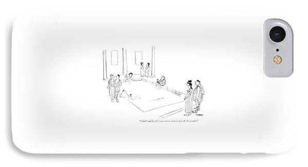 Caius's And Livia's Orgies Never Seem To Get IPhone Case