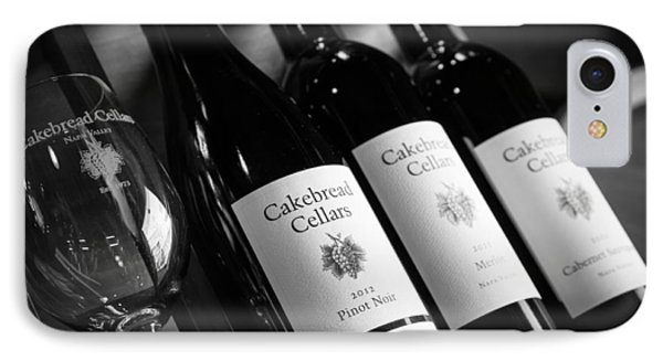 Cakebread Cellars IPhone Case by Peak Photography by Clint Easley
