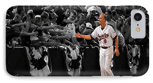 Cal Ripken IPhone Case by Brian Reaves