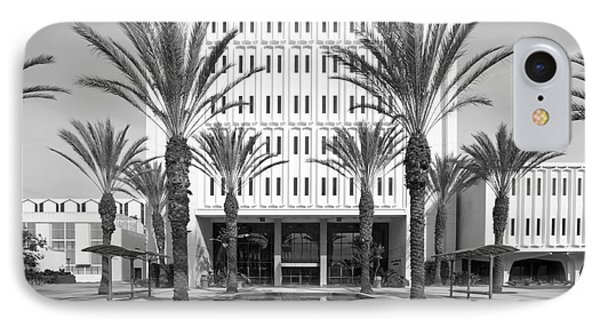 Cal State University Fullerton Langsdorf Hall Phone Case by University Icons