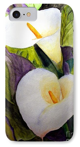 Cala Lily IPhone Case by Carol Grimes