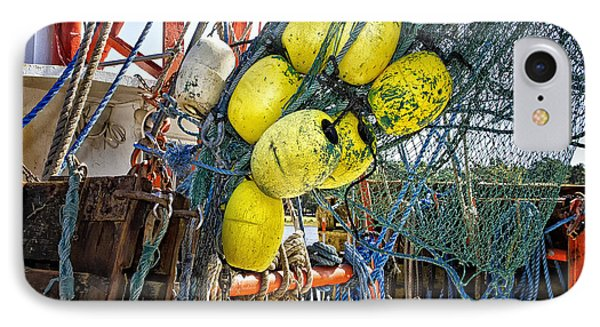 Calabash Shrimp Nets IPhone Case by Sandra Anderson
