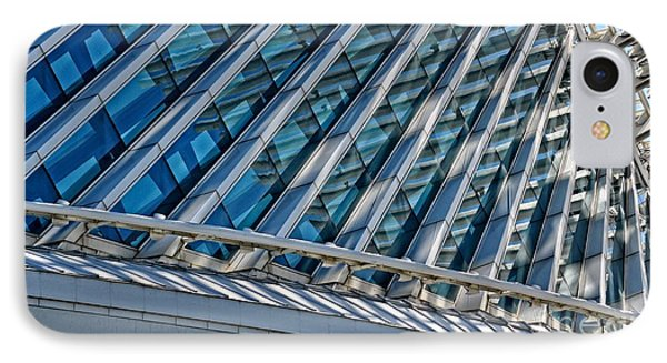 Calatrava In The Morning Phone Case by Mary Machare