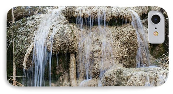 Calcareous Sinter And Waterfall IPhone Case