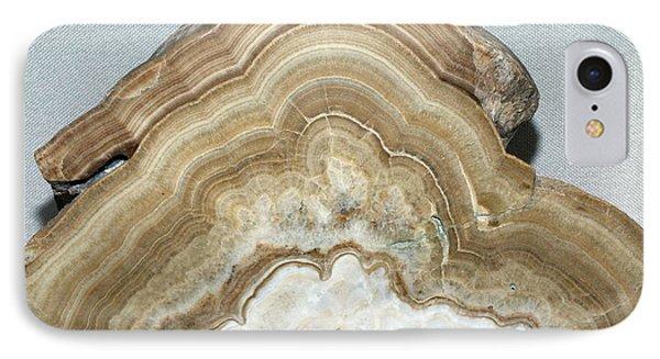 Calcium Carbonate Precipitation IPhone Case by Dirk Wiersma