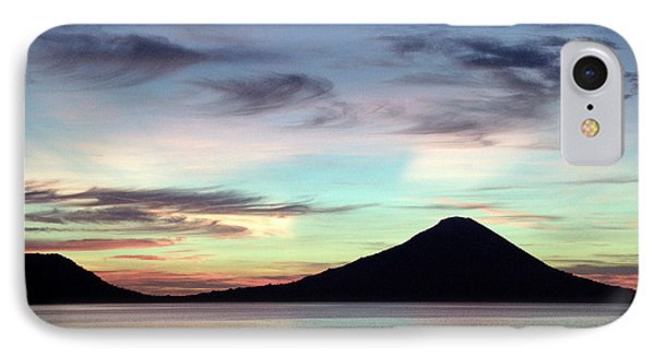 Caldera Sunset Phone Case by Paula Marie deBaleau