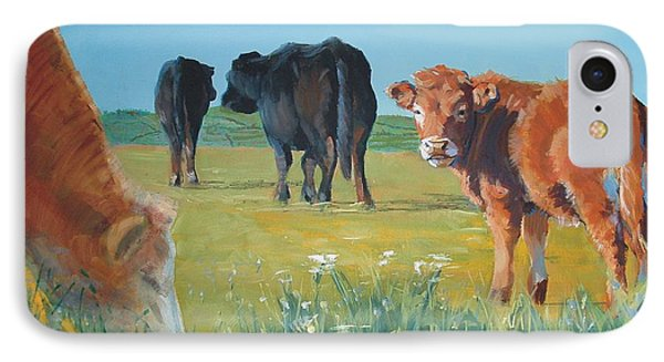 Calf Painting IPhone Case