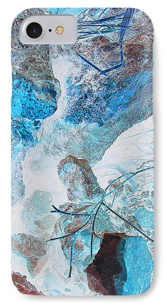 IPhone Case featuring the photograph Caliche And Desert Grasses by Louis Nugent