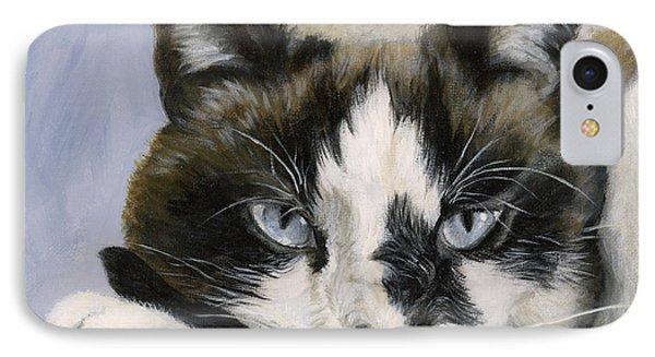 Calico Cat With Attitude IPhone Case