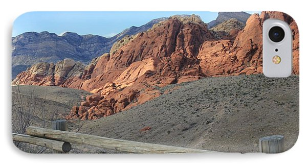 IPhone Case featuring the photograph Calico Hills Az by Kathleen Scanlan