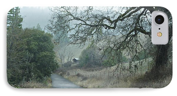 California Back Country Road IPhone Case