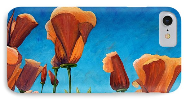 IPhone Case featuring the painting California Closeup by Terry Taylor