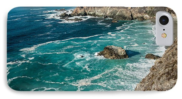 California Coast - Big Creek Bridge Phone Case by George Buxbaum