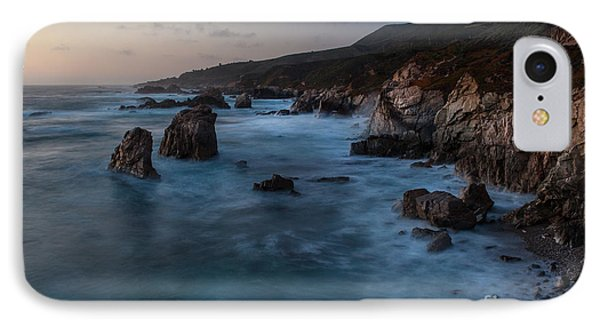 California Coast Dusk IPhone Case by Mike Reid