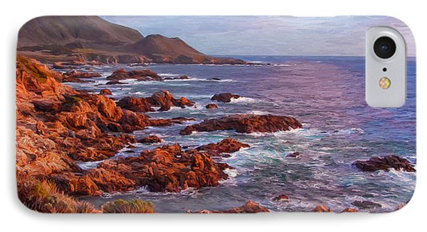 California Coast IPhone Case by Michael Pickett