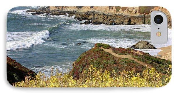 California Coast Overlook Phone Case by Carol Groenen
