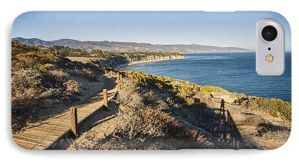 California Coastline From Point Dume Phone Case by Adam Romanowicz