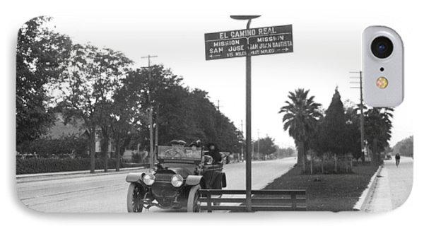 California El Camino Highway IPhone Case