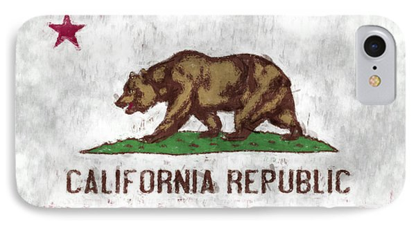 California Flag IPhone Case by World Art Prints And Designs