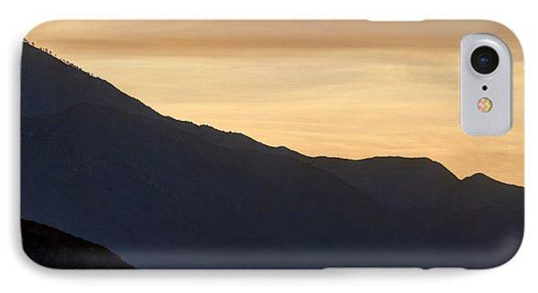 California Golden Desert Sunset Phone Case by Heidi Smith