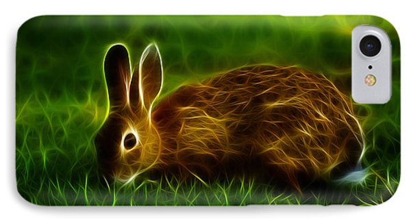 California Hare - 0291 IPhone Case by James Ahn
