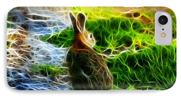 California Hare - 0297 IPhone Case by James Ahn