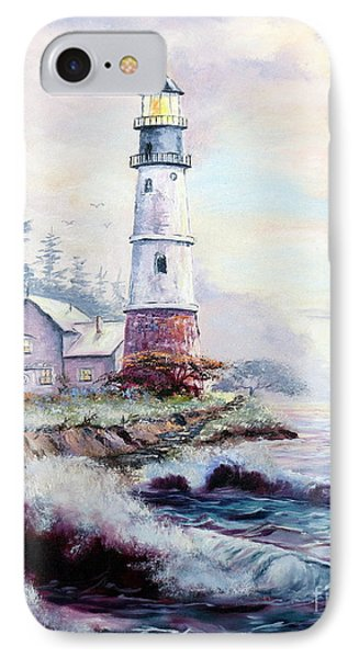 California Lighthouse Phone Case by Lee Piper