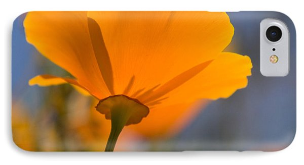 IPhone Case featuring the photograph California Poppy by Chris Scroggins