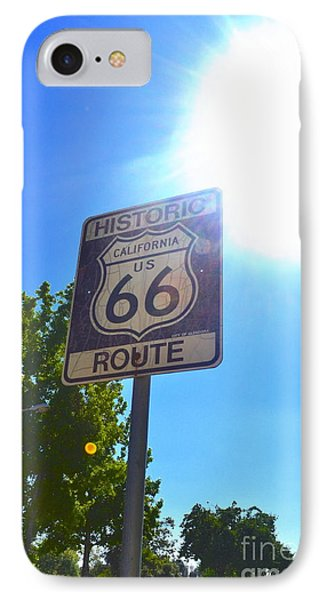 IPhone Case featuring the photograph California Route 66 by Utopia Concepts