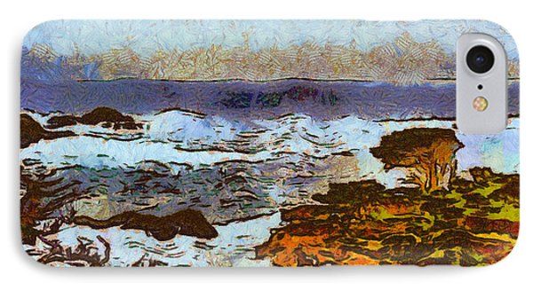 California Seascape Phone Case by Barbara Snyder