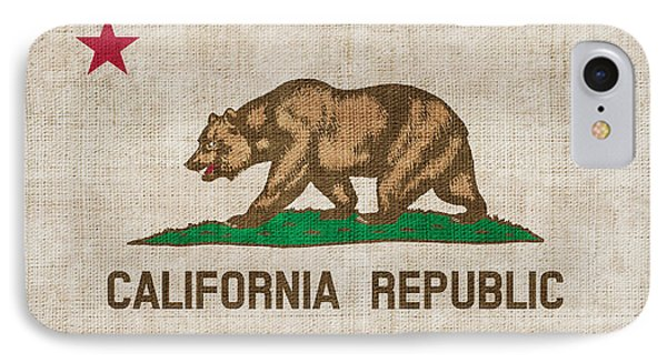 California State Flag IPhone Case by Pixel Chimp