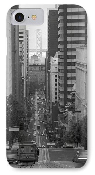 California Street San Francisco Streetcar IPhone Case