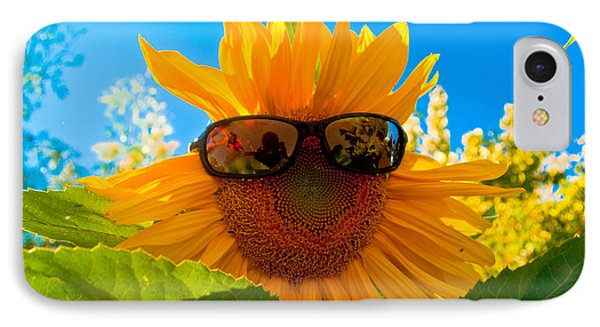 California Sunflower Phone Case by Bill Gallagher