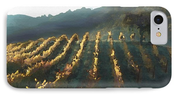 California Vineyard Series Wine Country Phone Case by Artist and Photographer Laura Wrede