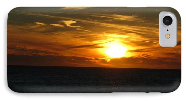 California Winter Sunset IPhone Case by Mini Arora