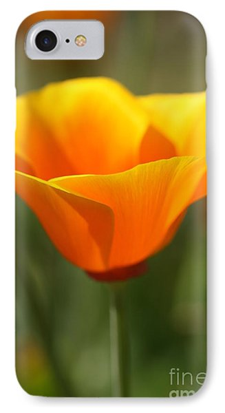 IPhone Case featuring the photograph Californian Poppy by Joy Watson
